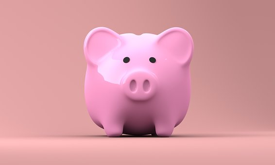 pink piggy bank how to save money on bills
